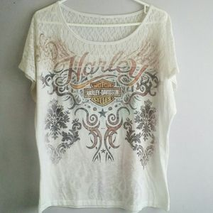 Women's Harley Davidson Graphic T-shirt 2x